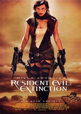Resident Evil Extinction (2007) Hindi Dubbed