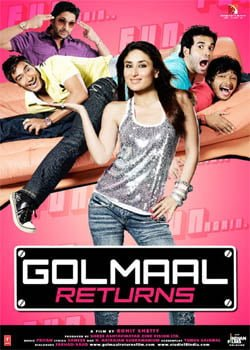 Golmaal Returns (2008) Hindi